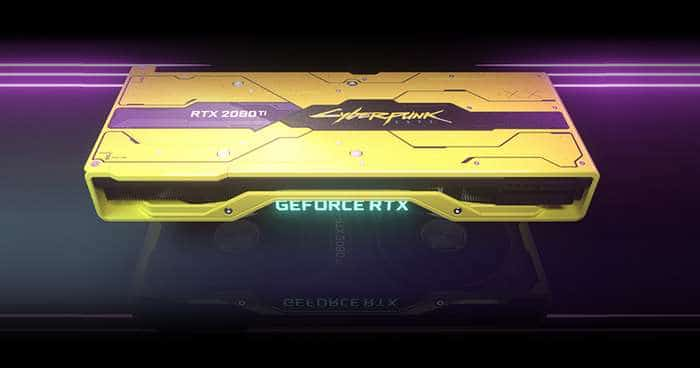 nvidia, nvidia geforce, geforce rtx 2080 ti cyberpunk 2077 edition