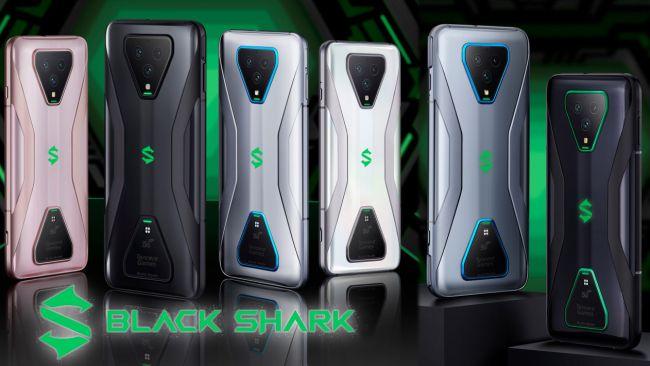 black shark 3, black shark 3 pro