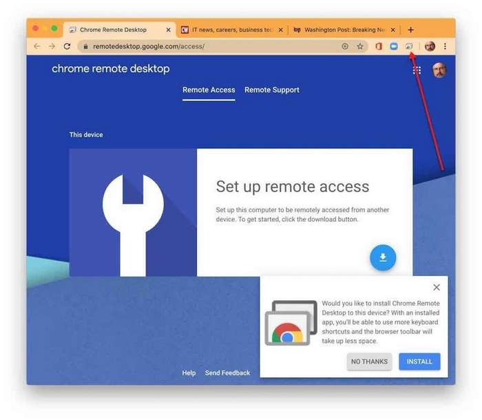 google chrome, extensii chrome, chrome remote desktop