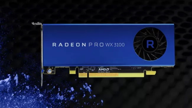 AMD Radeon Pro WX3100