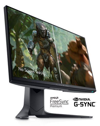 alienware, AW2521HF, nvidia gsync, amd freesync