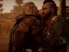 scena de sex homosexual, assassin's creed valhalla, assassin's creed