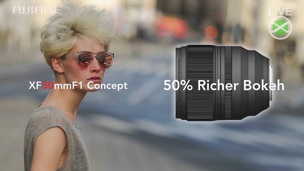 fujifilm xf 50mm f/1.0